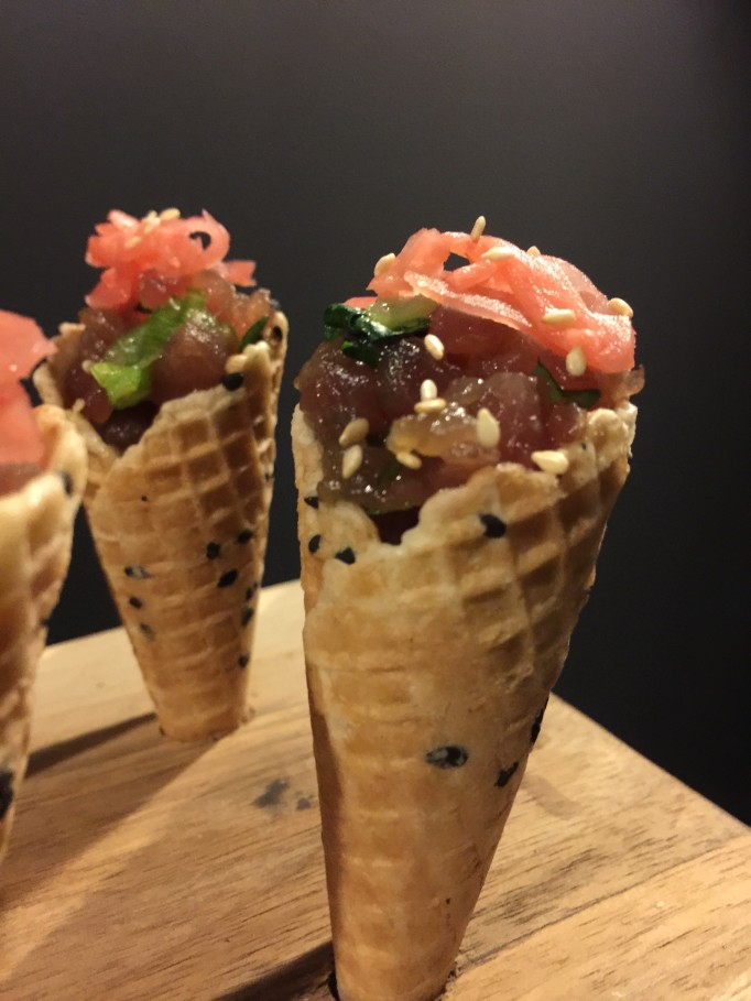BBQ Catering Vancouver Ahi Tuna Poke Cones