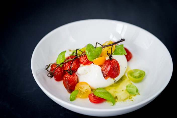 Heirloom Tomato & Burrata