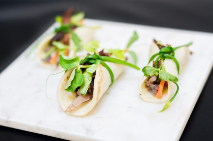 BBQ Duck Crepes with Hoisin
