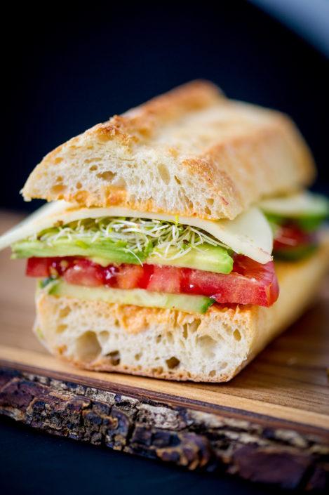 Veggie Lover's Sandwich
