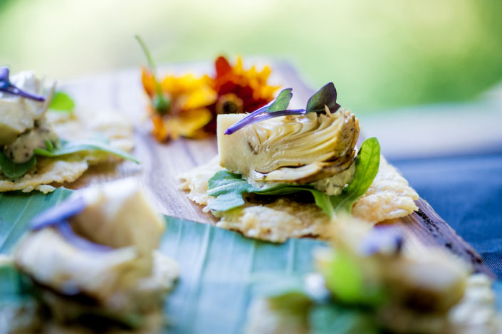 Grilled Artichoke, Grainy Dijon Remoulade, Parmesan Crisp
